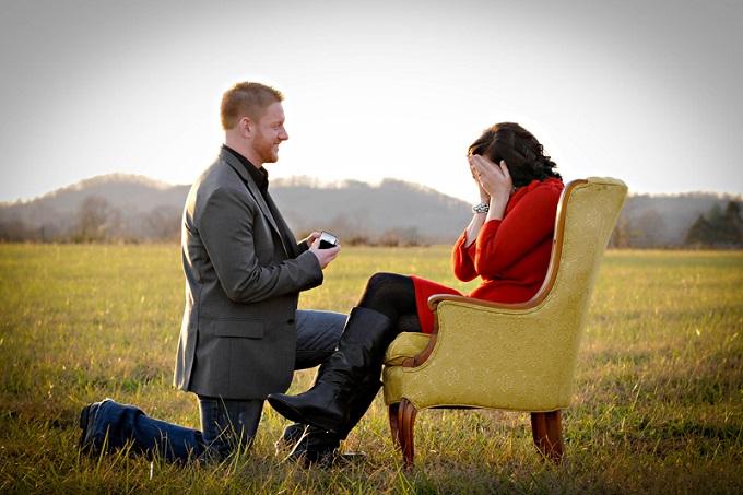 фотосесията на Love Story