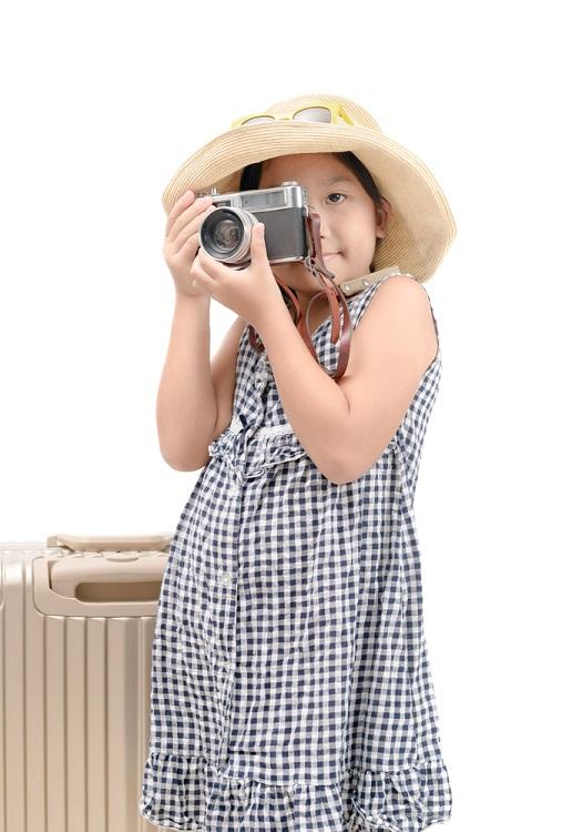 Дете да прави снимки