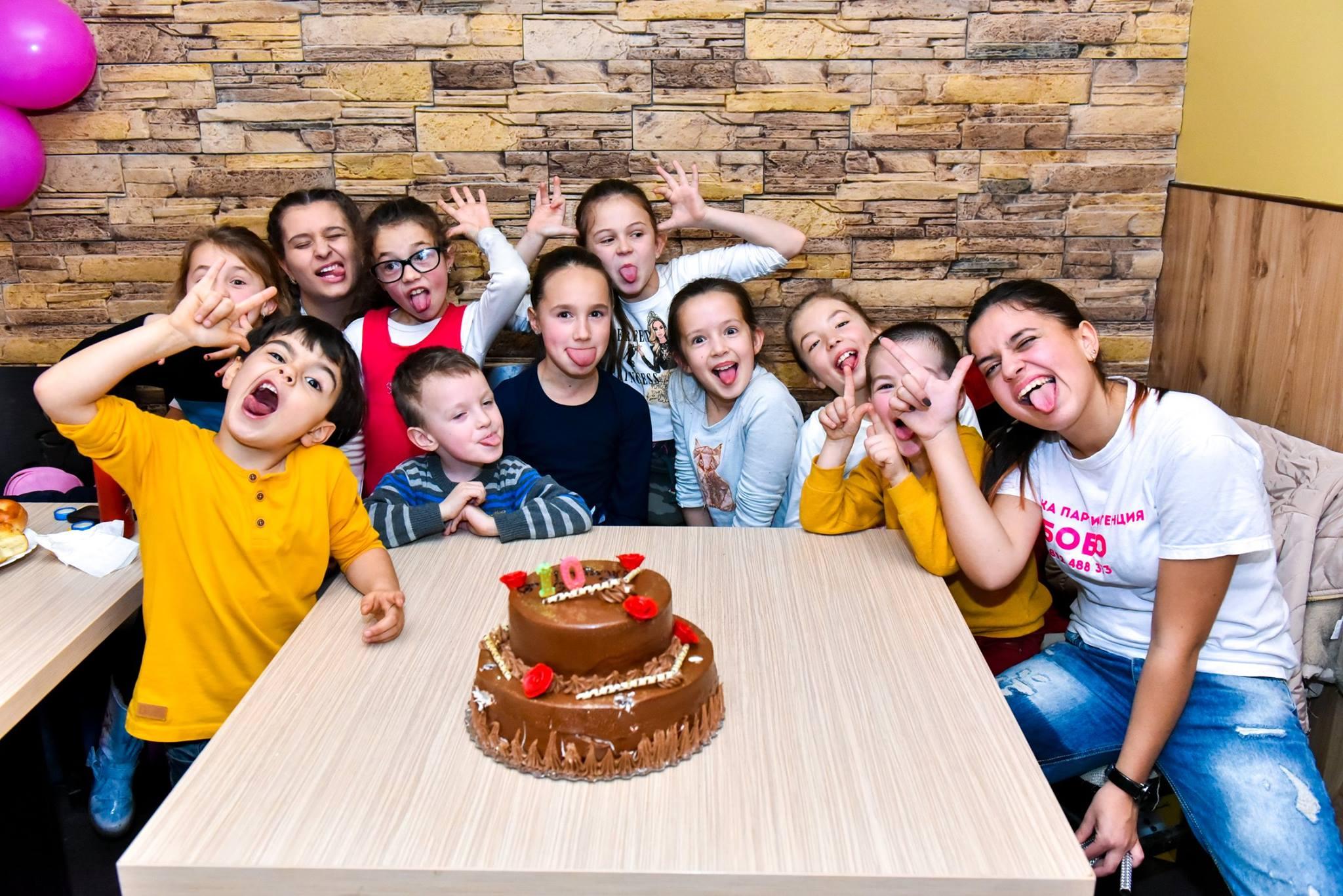 Фотограф за детски рожден ден